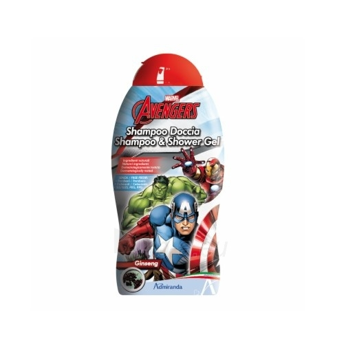 Šampūnas ir dušo želė EP Line Avengers 300 ml Paveikslėlis 1 iš 1 310820071320