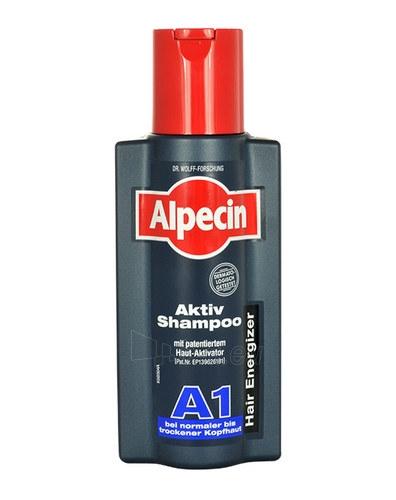 Šampūnas plaukams Alpecin Active Shampoo A1 Cosmetic 250ml Paveikslėlis 1 iš 1 250830101309