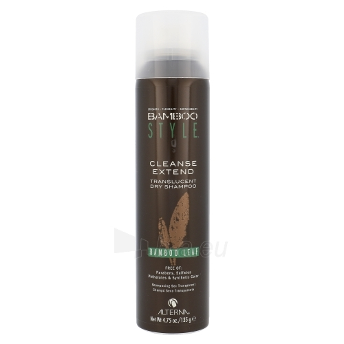 Šampūnas plaukams Alterna Bamboo Style Cleanse Extend Dry Shampoo Cosmetic 135g Dry Shampoo Spray, Shade Bamboo Leaf Paveikslėlis 1 iš 1 310820004563