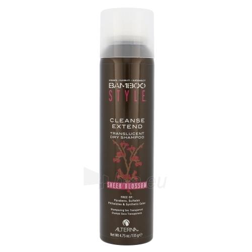Shampoo plaukams Alterna Bamboo Style Cleanse Extend Dry Shampoo Cosmetic 135g Dry Shampoo Spray, Shade Sheer Blossom Paveikslėlis 1 iš 1 310820004564