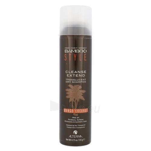 Shampoo plaukams Alterna Bamboo Style Cleanse Extend Dry Shampoo Cosmetic 135g Paveikslėlis 1 iš 1 310820003607