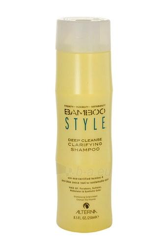 Šampūnas plaukams Alterna Bamboo Style Deep Cleanse Clarifying Shampoo Cosmetic 250ml Paveikslėlis 1 iš 1 310820003608