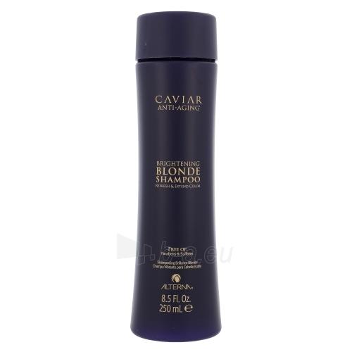 Šampūnas plaukams Alterna Caviar Brightening Blonde Shampoo Cosmetic 250ml Paveikslėlis 1 iš 1 250830101233