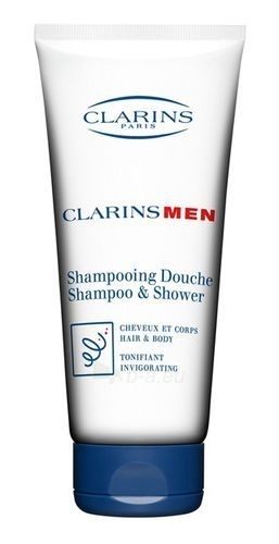 Clarins Men Shampoo Shower Cosmetic 200ml (without box) Paveikslėlis 1 iš 1 250830100416