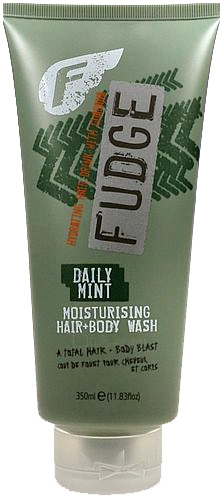 Fudge Daily Mint Moisturising Hair Body Wash Cosmetic 350ml Paveikslėlis 1 iš 1 250830100039