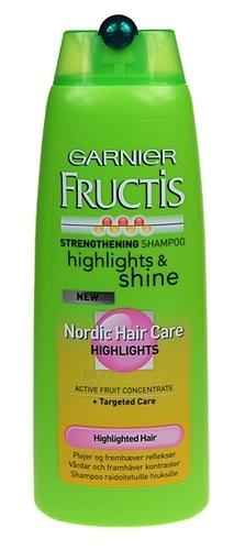 Garnier Fructis Strengthening Shampoo Cosmetic 250ml Paveikslėlis 1 iš 1 250830100376