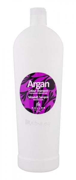 Šampūnas plaukams Kallos Argan Colour Shampoo Cosmetic 1000ml Paveikslėlis 1 iš 1 250830100420