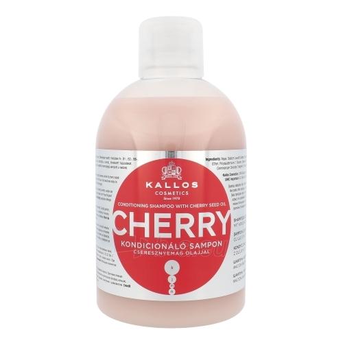 Šampūnas plaukams Kallos Cherry Shampoo Cosmetic 1000ml Paveikslėlis 1 iš 1 250830101173