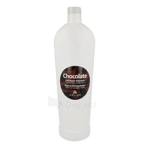 Šampūnas plaukams Kallos Chocolate Full Repair Shampoo Cosmetic 1000ml Paveikslėlis 1 iš 1 250830101028
