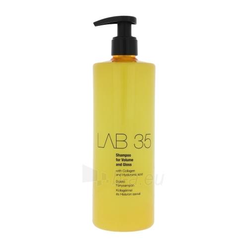 Šampūnas plaukams Kallos Lab 35 Shampoo For Volume And Gloss Cosmetic 500ml Paveikslėlis 1 iš 1 250830101067