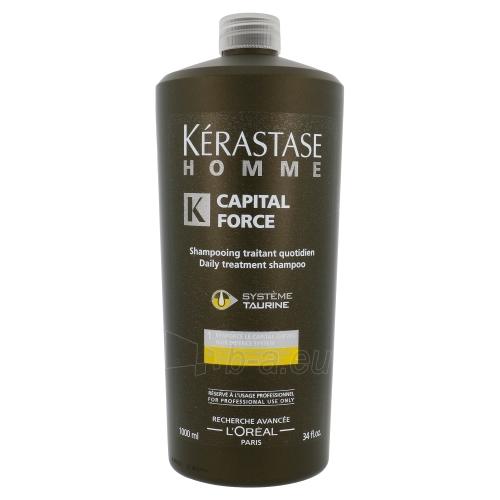 Kerastase Homme Capital Force Daily Treatment Shampoo Cosmetic 1000ml Paveikslėlis 1 iš 1 250830100472