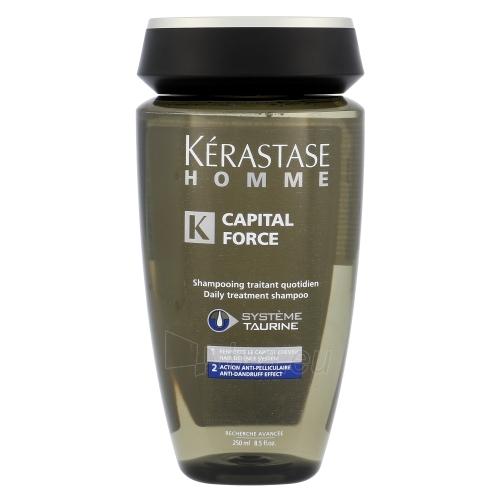 Šampūnas plaukams Kerastase Homme Capital Force Shampoo AntiDandruff Effect Cosmetic 250ml Paveikslėlis 1 iš 1 250830100061