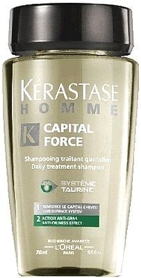 Kerastase Homme Capital Force Shampoo AntiOiliness Effect Cosmetic 1000ml Paveikslėlis 1 iš 1 250830100062