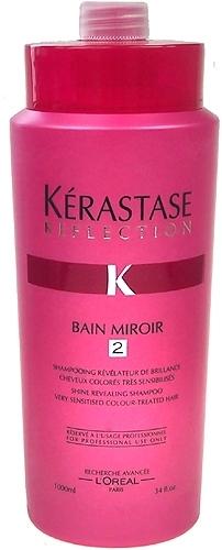 Šampūnas plaukams Kerastase Reflection Bain Miroir 2 Very Sensitised Colour-Tr Cosmetic 1000ml Paveikslėlis 1 iš 1 250830100089