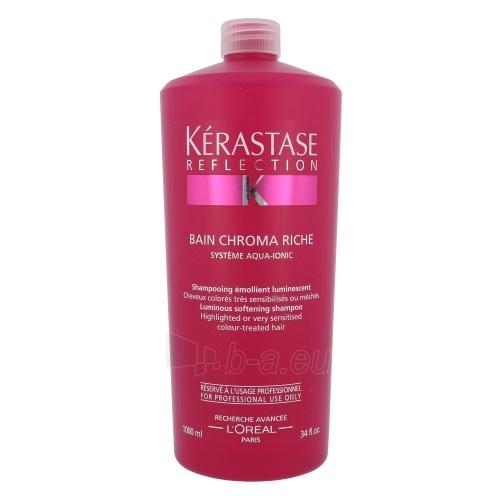 Kerastase Reflection Chroma Riche Luminous Softening Shampoo Cosmetic 1000ml Paveikslėlis 1 iš 1 250830100094