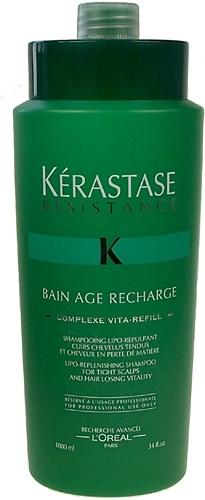 Kerastase Resistance Bain Age Recharge Cosmetic 1000ml Paveikslėlis 1 iš 1 250830100095