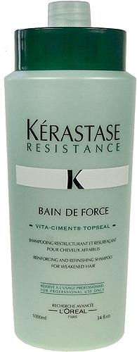 Šampūnas plaukams Kerastase Resistance Bain De Force Cosmetic 1000ml Paveikslėlis 1 iš 1 250830100098