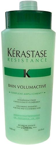 Šampūnas plaukams Kerastase Resistance Bain Volumactive Cosmetic 1000ml Paveikslėlis 1 iš 1 250830100100