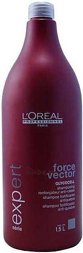 Šampūnas plaukams L´Oreal Paris Expert Force Vector Shampoo Cosmetic 1500ml Paveikslėlis 1 iš 1 250830100144