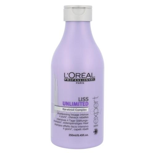 Šampūnas plaukams L´Oreal Paris Expert Liss Unlimited Shampoo Cosmetic 250ml Paveikslėlis 1 iš 1 250830100741