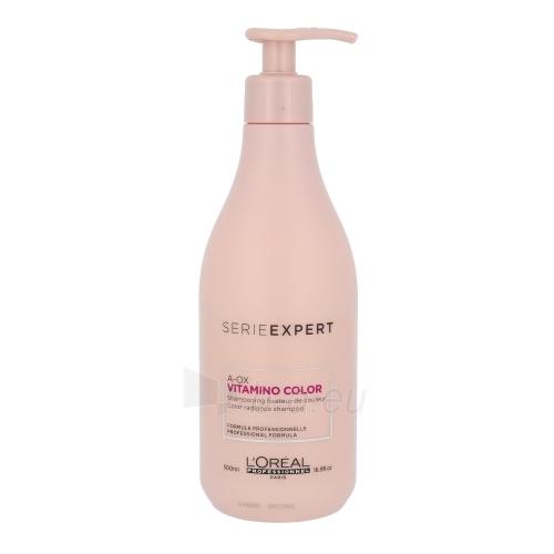 Shampoo plaukams L´Oreal Paris Expert Vitamino Color A-OX Shampoo Cosmetic 500ml Paveikslėlis 1 iš 1 310820010267