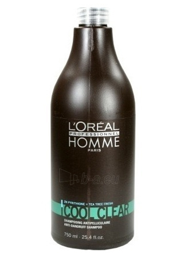 Šampūnas plaukams Loreal Professionnel Dandruff shampoo for men Cool Clear (Anti-Dandruff Shampoo) 250 ml Paveikslėlis 2 iš 2 310820090549