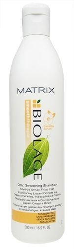 Šampūnas plaukams Matrix Biolage Deep Smoothing Shampoo Cosmetic 500ml Paveikslėlis 1 iš 1 250830100189