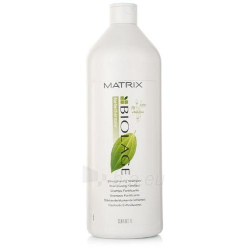 Šampūnas plaukams Matrix Biolage Strengthening Shampoo Cosmetic 1000ml Paveikslėlis 1 iš 1 250830100406