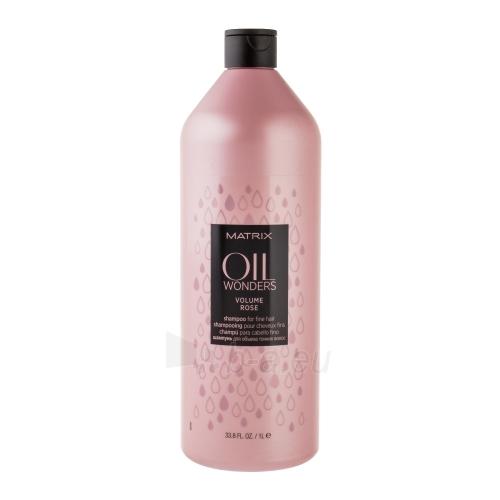 Šampūnas plaukams Matrix Oil Wonders Volume Rose Shampoo Cosmetic 1000ml Paveikslėlis 1 iš 1 310820003610