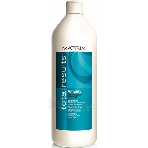 Matrix Total Results Amplify Shampoo Cosmetic 500ml Paveikslėlis 1 iš 1 250830100480