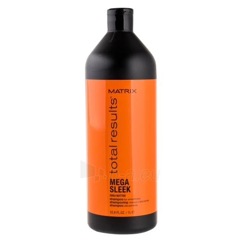 Šampūnas plaukams Matrix Total Results Mega Sleek Shea Butter Shampoo Cosmetic 1000ml Paveikslėlis 1 iš 1 250830101350
