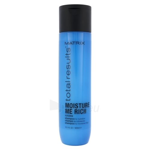 Šampūnas plaukams Matrix Total Results Moisture Me Rich Shampoo Cosmetic 300ml Paveikslėlis 1 iš 1 250830101353
