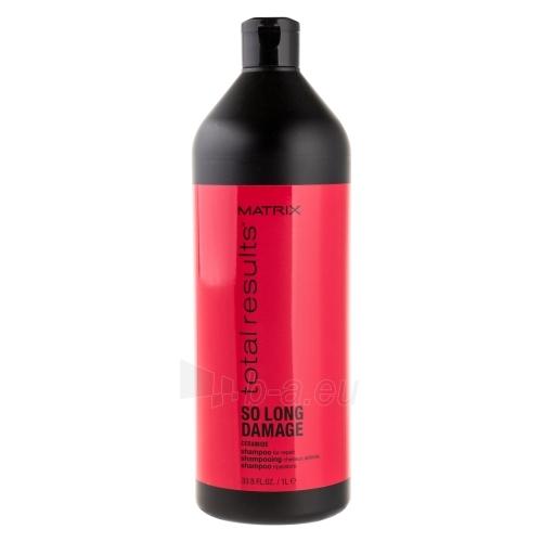 Šampūnas plaukams Matrix Total Results So Long Damage Ceramide Shampoo Cosmetic 1000ml Paveikslėlis 1 iš 1 310820040023