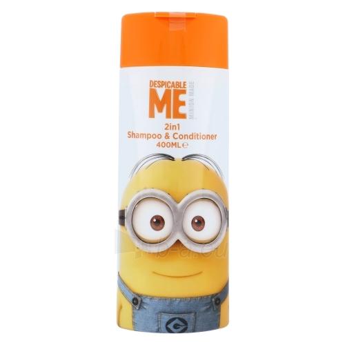 Shampoo plaukams Minions Shampoo & Conditioner 2in1 Cosmetic 400ml Paveikslėlis 1 iš 1 310820000617