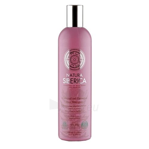Šampūnas plaukams Natura Siberica Coloured and Damaged Hair Shampoo 400 ml Paveikslėlis 1 iš 1 250830100916