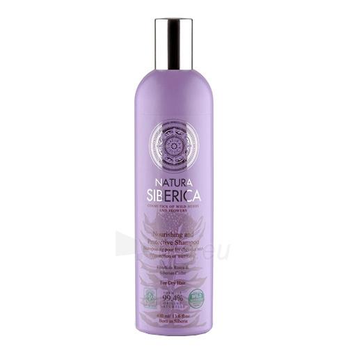 Šampūnas plaukams Natura Siberica Nourishing and Protective Shampoo 400 ml Paveikslėlis 1 iš 1 250830100919
