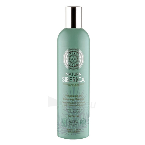 Šampūnas plaukams Natura Siberica Volumizing and Balancing Shampoo 400 ml Paveikslėlis 1 iš 1 250830100918