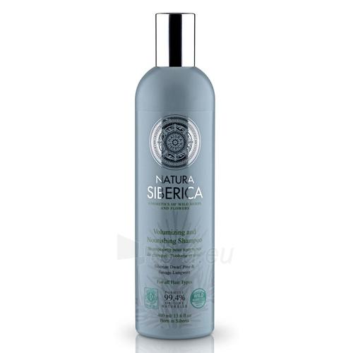Šampūnas plaukams Natura Siberica Volumizing and Nourishing Shampoo 400 ml Paveikslėlis 1 iš 1 250830100922