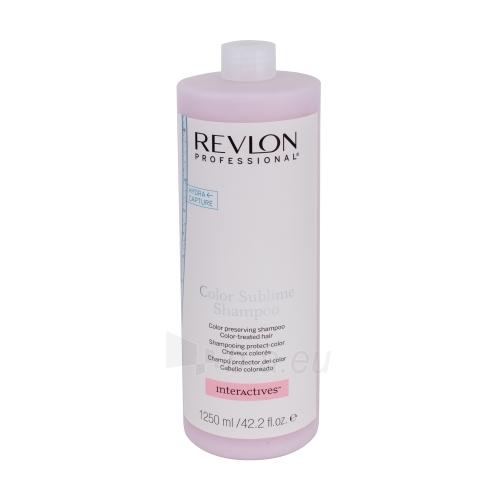 Šampūnas plaukams Revlon Interactives Color Sublime Shampoo Cosmetic 1250ml Paveikslėlis 1 iš 1 250830100787