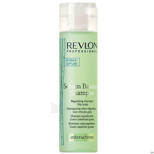 Šampūnas plaukams Revlon Interactives Sebum Balance Shampoo Cosmetic 250ml Paveikslėlis 1 iš 1 250830100506