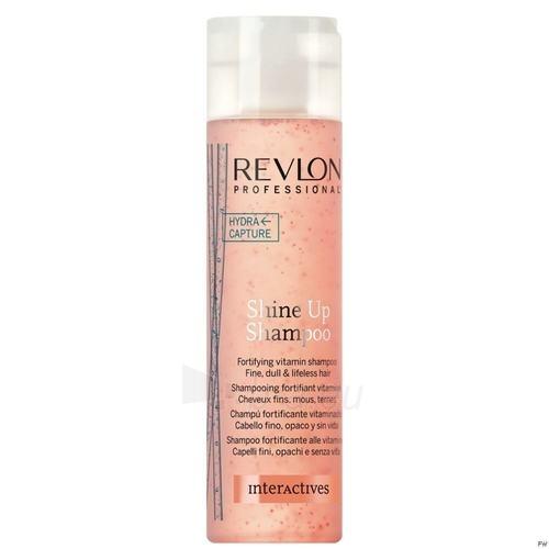 Šampūnas plaukams Revlon Interactives Shine Up Shampoo Cosmetic 250ml Paveikslėlis 1 iš 1 250830100505