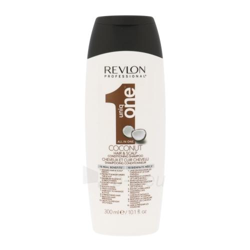 Revlon Uniq One Coconut Conditioning Shampoo Cosmetic 300ml Paveikslėlis 1 iš 1 250830101129