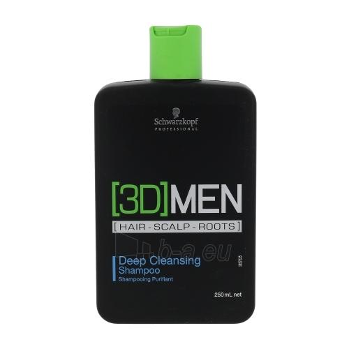 Šampūnas plaukams Schwarzkopf 3DMEN Deep Cleansing Shampoo Cosmetic 250ml Paveikslėlis 1 iš 1 250830101163