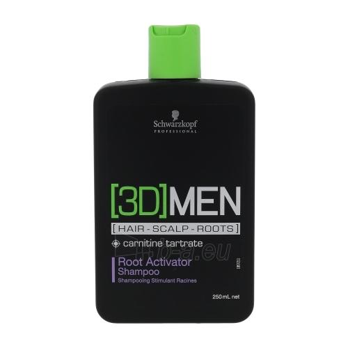Šampūnas plaukams Schwarzkopf 3DMEN Root Activator Shampoo Cosmetic 250ml Paveikslėlis 1 iš 1 250830101167