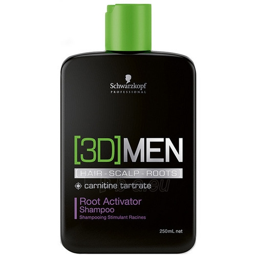 Schwarzkopf 3DMENsion Activating Shampoo Cosmetic 250ml Paveikslėlis 1 iš 1 250830100231