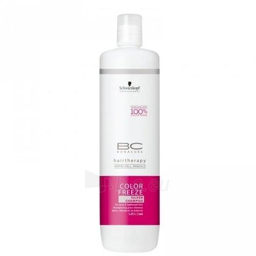 Schwarzkopf BC Bonacure Color Freeze Silver Shampoo Cosmetic 1250ml Paveikslėlis 1 iš 1 250830100622