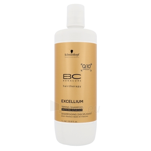 Šampūnas plaukams Schwarzkopf BC Bonacure Excellium Taming Shampoo Cosmetic 1000ml Paveikslėlis 1 iš 1 250830101334