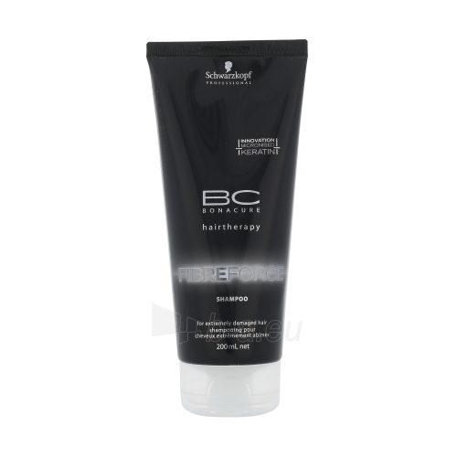 Schwarzkopf BC Bonacure Fibreforce Shampoo Cosmetic 200ml Paveikslėlis 1 iš 1 250830100685