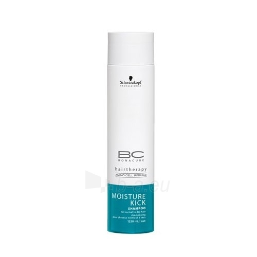 Schwarzkopf BC Bonacure Moisture Kick Shampoo Cosmetic 1250ml Paveikslėlis 1 iš 1 250830100458