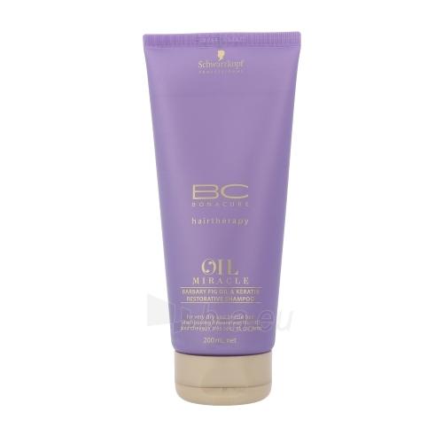 Šampūnas plaukams Schwarzkopf BC Bonacure Oil Miracle Barbary Fig Oil & Keratin Cosmetic 200ml Paveikslėlis 1 iš 1 250830101282